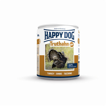 12x Happy Dog Dose Truthahn Pur 200g – Bild 8