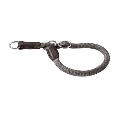 Hunter Dressurhalsung Freestyle 60 cm / 10 mm grau