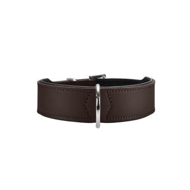 Hunter Halsband Basic 37 braun/schwarz 30   - 34,5 cm / 26 mm