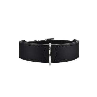 Hunter Halsband Basic 42 schwarz 35 - 39,5 cm / 26 mm
