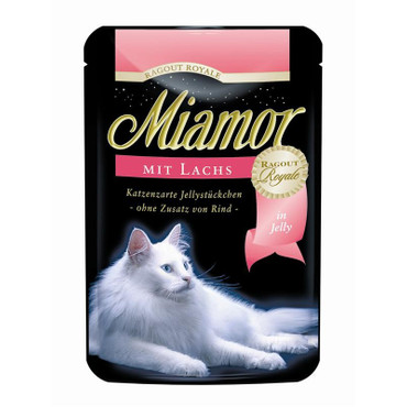 Miamor FB Ragout Royale in Jelly Lachs 100 g VE 22x
