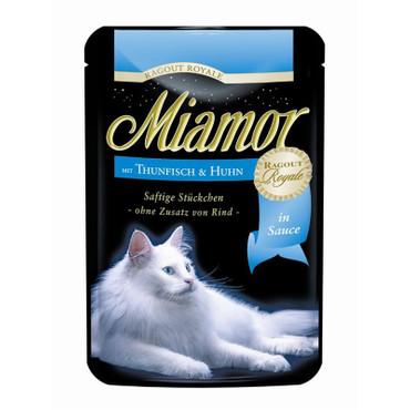 Miamor FB Ragout Royale in Soße Thunfisch & Huhn 100 g  VE 22x