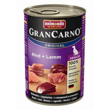 Animonda GranCarno Senior Rind & Lamm 400g VE 6x