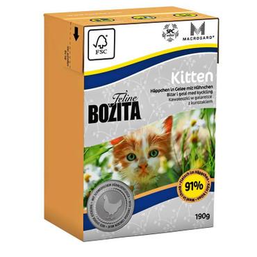Bozita Cat Tetra Recard Kitten 190g VE 16x