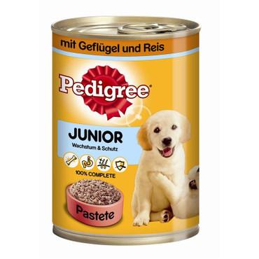 Pedigree Dose Junior Geflügel & Reis 400g VE 12x