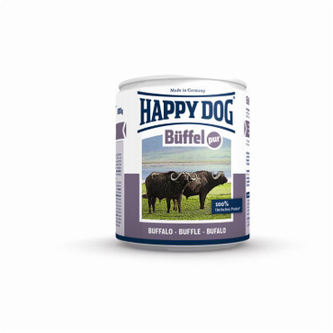 12x Happy Dog Dose Büffel Pur 200g – Bild 2