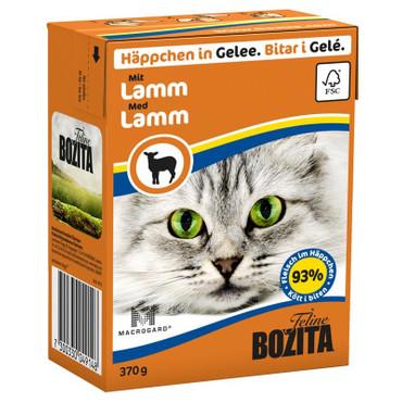 Bozita Cat Tetra Recard Häppchen in Gelee Lamm 370g VE 16x