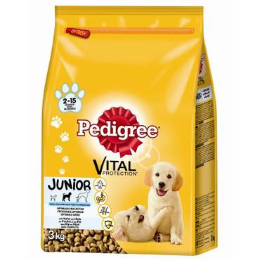 Pedigree Junior Medium mit Huhn & Reis 3kg