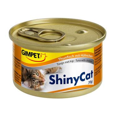 GimCat Dose ShinyCat Thunfisch mit Hühnchen 70g VE 24x