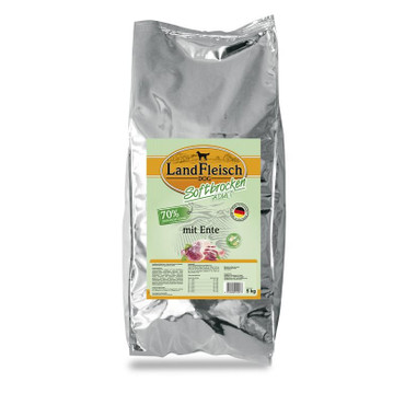 Landfleisch Dog Softbrocken mit Ente getreidefrei 5 kg