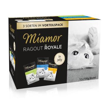 Miamor FB Ragout Royale Multibox in Jelly 12 x 100 g VE 4x