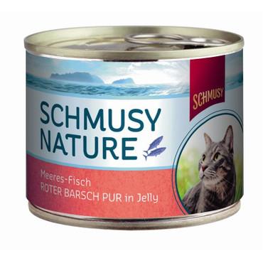 Schmusy Nature Meeres-Fisch Dose Roter Barsch pur 185g  VE 12x