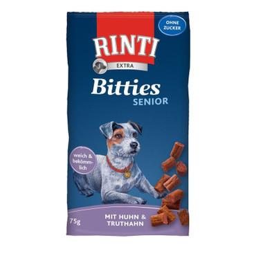 Rinti Extra Bitties Senior Huhn & Truthahn 75g VE 16x