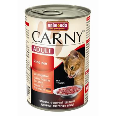 Animonda Carny Adult Rind pur 400g VE 6x