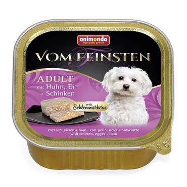 Animonda vom Feinsten Schlemmerkern mit Huhn, Ei & Schinken 150g VE 22x