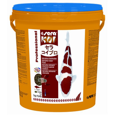 sera Koi Professional Spirulina Farbfutter 7kg