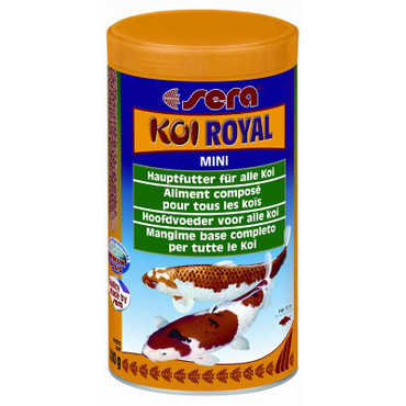 1x Sera Koi Royal HF mini 1000ml – Bild 1