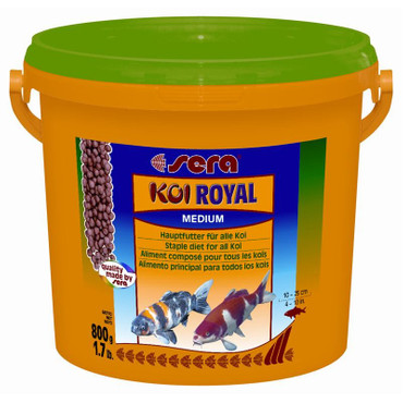 1x Sera Koi Royal HF medium 3800ml – Bild 1