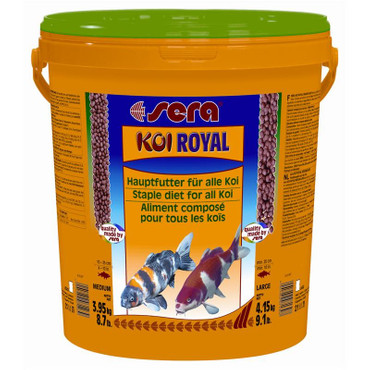 1x Sera Koi Royal HF medium 21 Liter – Bild 1