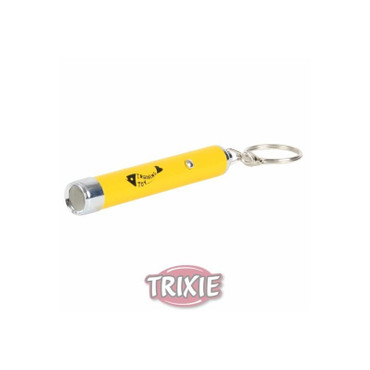 1x Trixie LED Pointer Catch the Light gelb – Bild 1