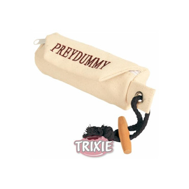 1x Trixie Dog Activity Preydummy  7 × 18 cm, beige – Bild 1