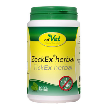1x cdVet DogZeckEx herbal 100 g – Bild 1