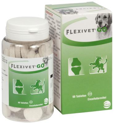 Flexivet GO für Hunde 60 Tabletten Packung