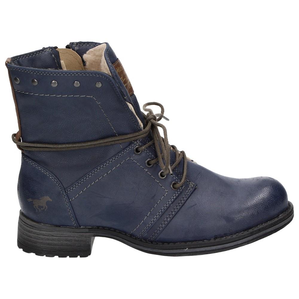 Mustang Shoes Mädchen Winter Combat Boots, stylisch und