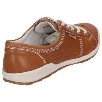 "Josef Seibel Schuhe ""Caspian"" 75650-51 Leder Sneaker, Braun (Natur) – Bild 4"