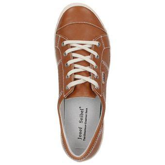 "Josef Seibel Schuhe ""Caspian"" 75650-51 Leder Sneaker, Braun (Natur) – Bild 5"