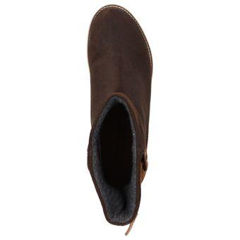 Napapijri Lova mid boot 0575400-046 Damen Mädchen Leder Winter Boots Dunkelbraun – Bild 5
