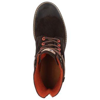 Napapijri Trygve high lace 0584460-046 Herren Leder Winter Boots Schnürstiefelette Filzfutter, Dunkelbraun – Bild 5