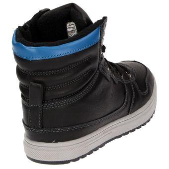 RUSHOUR Shoes 1818102 Jungen Winter Sneaker Schuhe Warmfutter Schwarz – Bild 3