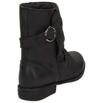 Claudia Ghizzani Madchen Winter Boots Girls Stiefelette Warmfutter Schwarz