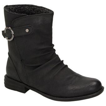 Claudia Ghizzani 2289843 Mädchen Damen Winter Stiefelette Boots Warmfutter Schuh Schwarz 001