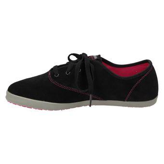 Reebok HERITAGE ULTRALITE Damen Schuhe Leder Sneaker Halbschuhe Plimsoll Schnürer Schwarz – Bild 4