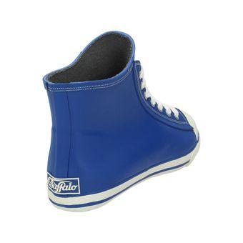 Buffalo 511-7483 RUBBER, Damen Gummistiefel High-Top Sneaker Blau Grau Grün Pink – Bild 16