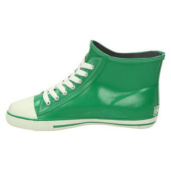 Buffalo 511-7483 RUBBER, Damen Gummistiefel High-Top Sneaker Blau Grau Grün Pink – Bild 11
