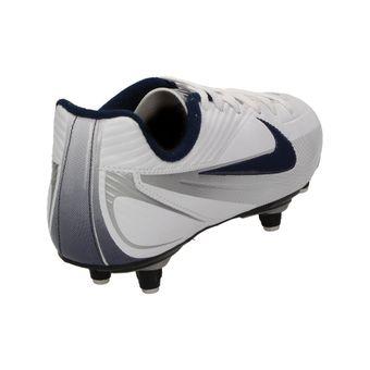 """Nike """"JR RIO 2 SG"""" Kinder Unisex Fußball Schuhe Stollenschuhe Rasen Weiß Blau – Bild 3"""