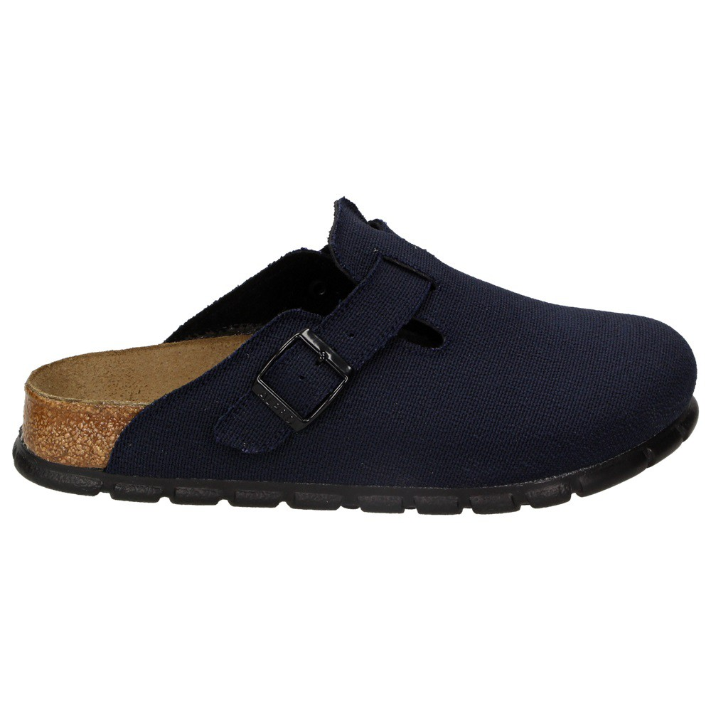 alpro by birkenstock damen schuhe pantolette hausschuhe pantoffel clogs blau ebay. Black Bedroom Furniture Sets. Home Design Ideas