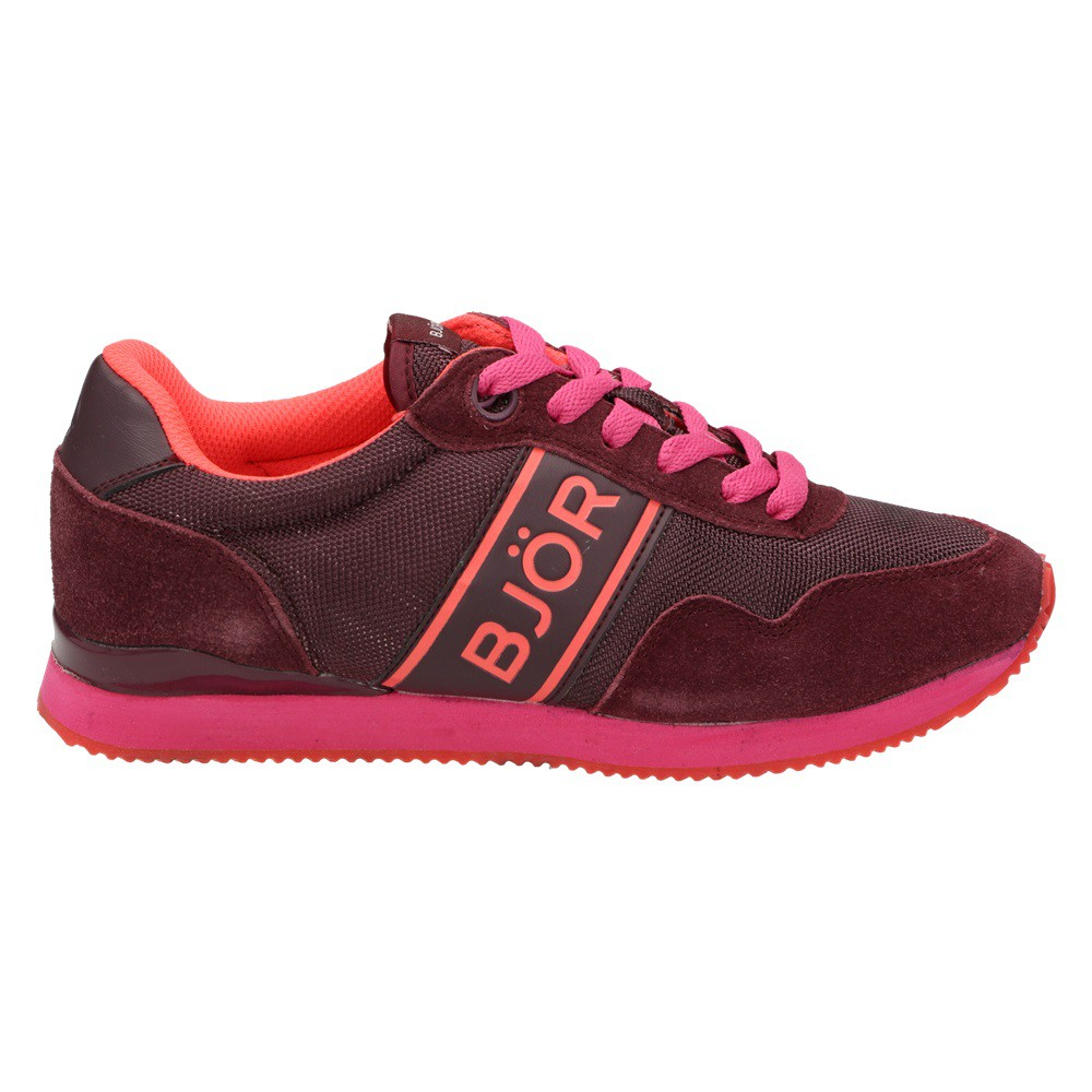 bj rn borg footwear joey damen schuhe sneaker halbschuhe schn rer rot pink damenschuhe sneaker. Black Bedroom Furniture Sets. Home Design Ideas