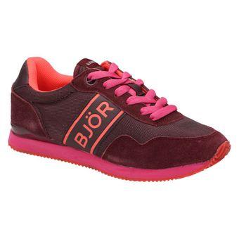 Björn Borg Footwear JOEY Damen Schuhe Sneaker Halbschuhe Schnürer Rot/Pink 001