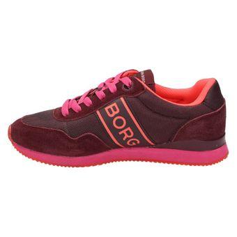 Björn Borg Footwear JOEY Damen Schuhe Sneaker Halbschuhe Schnürer Rot/Pink – Bild 4