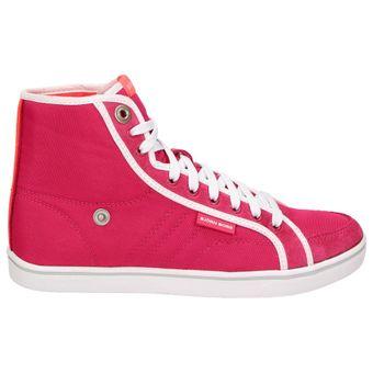 Björn Borg LLOYD MID NYL Damen Schuhe High-Top Sneaker Freizeit Schnürer Leder pink – Bild 2