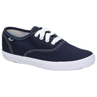 Keds Kids CHAMP Unisex Kinder Schuhe Jungen Mädchen Sneaker Canvas navy Plimsolls 001
