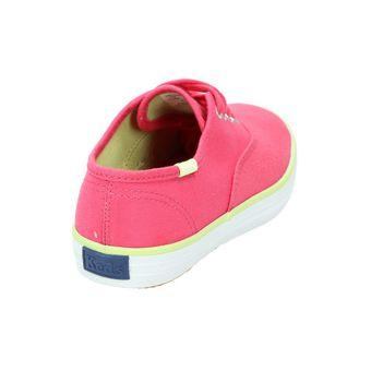 Keds Kids ORIG CHAMP CVO KY45786 Kinder Schuhe Mädchen Sneaker Halbschuhe Canvas Schnürer Pink (Raspberry) – Bild 3