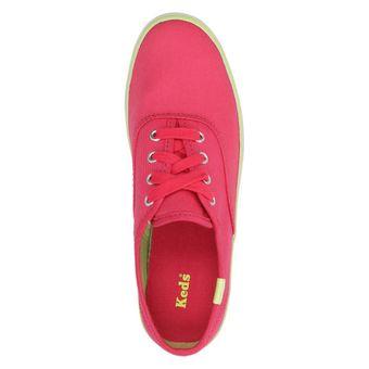 Keds Kids ORIG CHAMP CVO KY45786 Kinder Schuhe Mädchen Sneaker Halbschuhe Canvas Schnürer Pink (Raspberry) – Bild 5