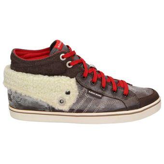 Björn Borg Footwear LLOYD MID FLD Damen Schuhe High-Top Fashion Sneaker Leder Schnürer – Bild 2