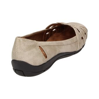 Life Stride DISTRICT #2 Damen Schuhe Ballerinas Komfort Slipper Freizeit Flats beige – Bild 3