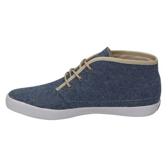 Pointer KC I014755 Damen Schuhe High-Top Sneaker Schnürhalbschuhe Canvas Schnürer Navy Chambray – Bild 4